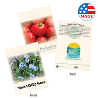 Seed Packets Custom Logo